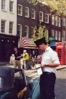 Traffic Warden on Hampstead High Street