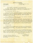 Letter dated 15th May 1945