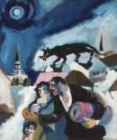 Josef Herman - Refugees (1941) courtesy of the Ben Uri Gallery