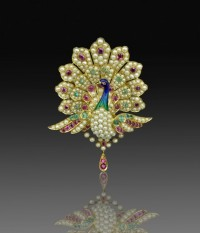 A late 19th century Indian pendant sold recently at DNW for £6,000