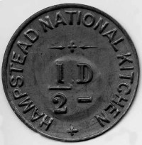 Hampstead National Kitchen Token