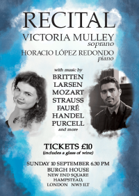 Victoria Mulley and Horacio López Redondo