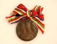 Obverse of Altipiani Medal