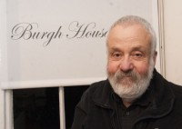 Film director Mike Leigh at Burgh House as part of the Lifelines series of talks