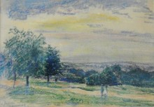 Figures on Hampstead Heath