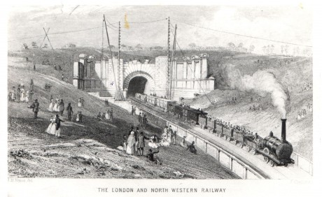 The Opening of the Primrose Hill Tunnel