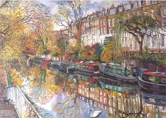 Autumn at Regents Canal