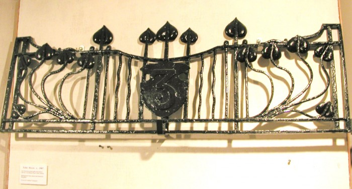 Grille from Belsize Park Underground Station