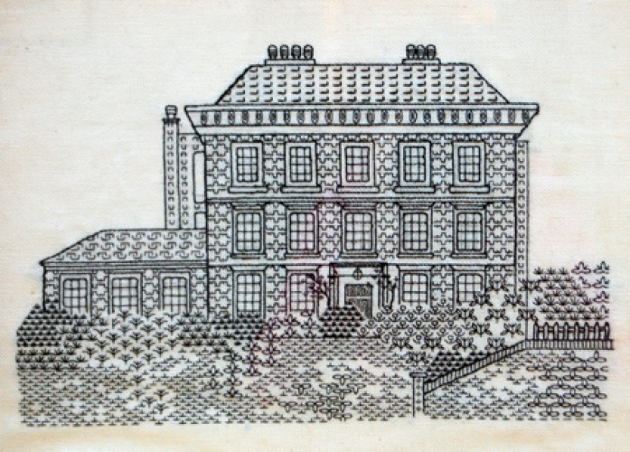 Embroidered Burgh House