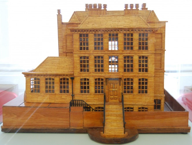 Matchstick Model of Burgh House